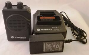 Motorola Minitor V 5 Pager A03kms7238bc Vhf High Band 151 158 9975 W charger