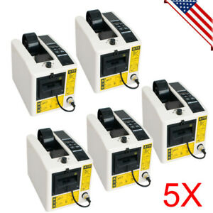 5pcs 18w Automatic Tape Cutter Electrical Tape Dispensing Packing Machine Usa