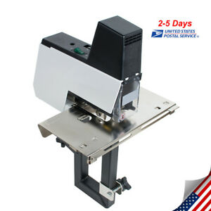 Electric Auto Flat And Saddle Stapler Heavy Duty Binding Machine 2 50 Sheets New