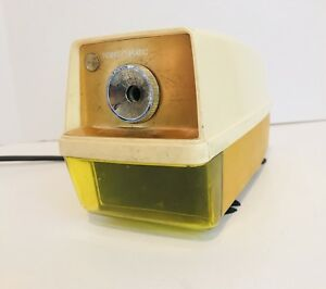 Vintage Panasonic Electric Pencil Sharpener Kp 33 Auto stop W Light