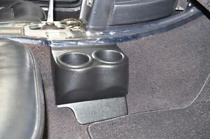 1963 1967 C2 Corvette Travel Buddy Double Cup drink Holder Black In Color