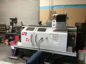 Haas Tl 2 2011 Cnc Tool Room Lathe Includes Four Station Auto Tool Turret