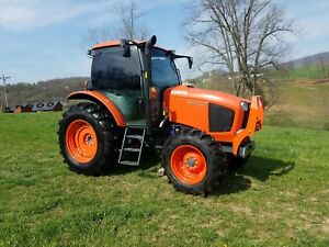 2015 Kubota M110gx Tractor Diesel Farm Ag Machine Ac Heat 110hp 4x4 New Tires