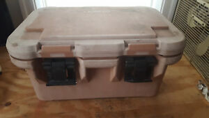 Cambro Upcs180 Insulated Food Carry Case Camping Caterer Stainless Bins