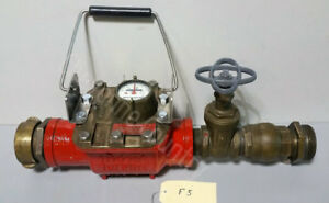 Fire Hydrant Water Meter Cubic Feet Neptune Trident Turbine E 8 F5