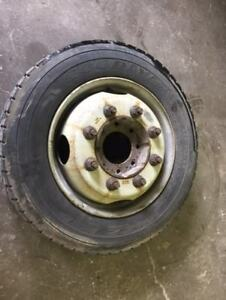 2011 Thru 2014 Chevrolet 2500hd Srw 19 5 Tires Wheels With Spacers 8 Lug Axles
