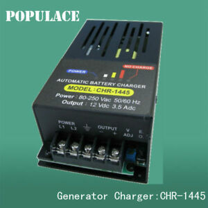 Automatic Generator Charging Battery Charger 110v 220vac Chr 1445 12v 3 5a