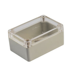 10x Waterproof Clear Cover Plastic Electronic Project Box Enclosure 100x68x50mm