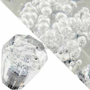 Jdm Diamond Crystal Vip Style Manual Shifter Shift Knob 60mm Clear For Nissan
