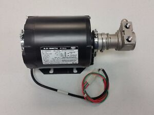 Procon Stainless Steel Pump 99 Psi A o Smith Motor 1 3 Hp 230 120 Vac Extras