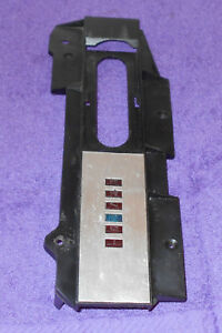 1967 1968 Mustang Gt Cs Gt A Cougar Xr7 Orig A T Console Shifter Indicator Plate