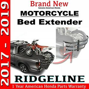New Genuine Honda Ridgeline motorcycle Bed Extender 08l26 t6z 100a