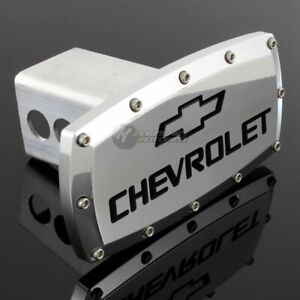 Chevrolet Hitch Cover Plug Cap 2 Trailer Tow Receiver W Allen Bolts Design