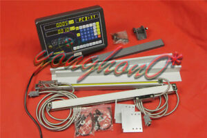 Dro Digital Readout Kit Display Meter For Milling Lathe Machine Linear Scale