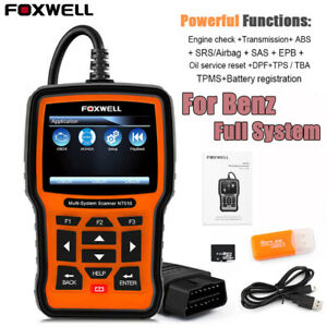 Full System Scanner For Mercedes Benz Code Reader Reset Function Diagnostic Tool