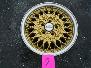 Bbs 15x7 Wheel Rim Oem Bolt Pattern 5x112 2 Rare