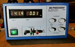 B k Precision 1666 Bench Switching Dc Power Supply Series 1 40v 5a
