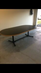 Mid Century Modern Herman Miller Conference dining Table