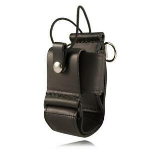 Leather Super Adjustable Radio Holder Radio Holder With D Rings For The 6543