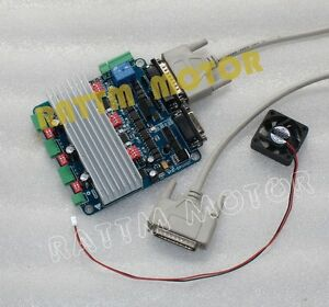 3 Axis Cnc Controller Tb6560 Stepper Motor Driver Board H Type cable fan
