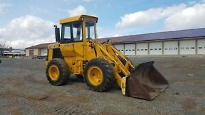 1974 John Deere 544ab Wheel Loader Diesel Engine Hydraulic Construction Machine