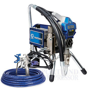 New Graco Ultra 395 Pc Airless Paint Sprayer Newest 2017 Stand Model 17c314