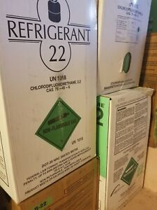 R22 Refrigerant 30lb New Freon Cylinder Hvac Air Conditioning R 22 Sealed