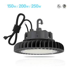 Hyperlite Ufo Led High Bay Light Fixture Warehouse Lamp Factory Shop Lighting