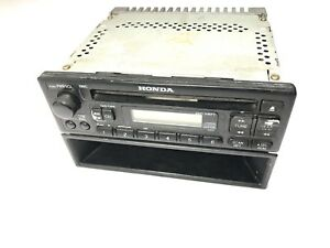 1999 2000 2001 Honda Civic Cd Radio Player With Cassette Trim Vent Bezel
