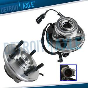 2 Front Wheel Bearing And Hub 2006 2007 2008 2009 2010 Ford Explorer 4 0l 4 6l