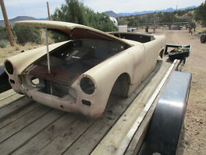 Austin Healey Sprite 1961 1964 Solid Tub With Doors And Hood Deck Lid