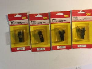 3m Test Clips Soic 923660 24 18 16 14 Pins New Lot Of 4