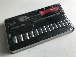 New Snap On 17 Pc 1 4 Drive 6point Metric General Starter Service Set 117tmmr