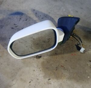 2002 2006 Acura Rsx Oem Driver Left Side Mirror Power White Factory Nh 578