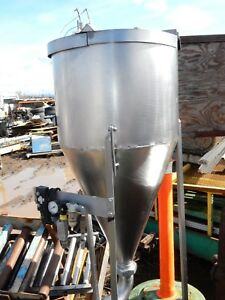 Cone Bottom Stainless Steel Tank