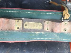 Bell Systems Semi floating Lineman s Body Belt Size Large 34 38