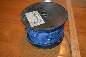 14 Gauge Copper Wire Insulated Blue 500 Ft 600v Vw 1 Spool Stranded 1134
