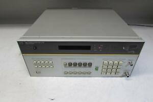 Hp 8901a Modulation Analyzer 150khz 1 3ghz