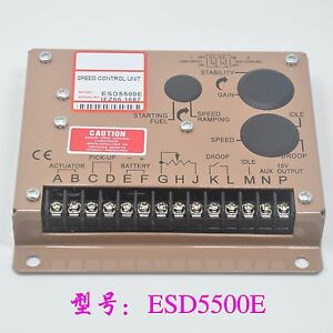 1pcs New Electronic Engine Speed Governor Controller Esd5500e Gac q917 Zx