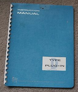 Tektronix Type D Plug In Service Manual All Schematic Parts 070 228