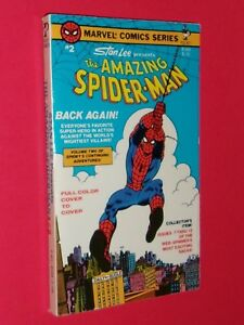 AMAZING SPIDERMAN PAPERBACK Marvel Comic Series #2 Stan Lee Pocket #81444 c.1978 $25.77