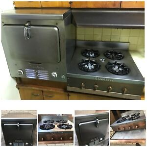 Vintage Wall Oven And Stove By Chambers Stainless Gas Antique Legacy