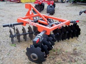 New Dirt Dog Hd 7 Ft 3 Point 200 9 Disc Harrow can Ship Very Inexpensive