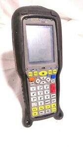 Psion Teklogix 7535 G2 Yellow Key Barcode Tekterm Scanner W rubber Cover
