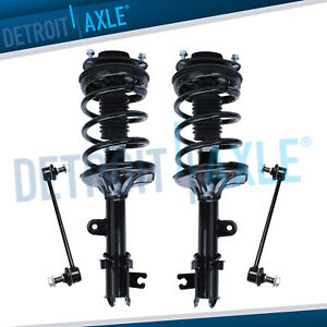 4pc Front Strut Sway Bar Link For 2005 2006 2007 2008 2009 2010 Kia Sportage