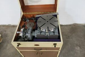 Moore 11 Precise Rotary Table Cabinet Lrt 1716 Rb W Extras