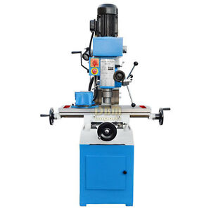 31 X 9 4 Milling And Drilling Machine Zx Rotary Head 45 Gear Drive Metal
