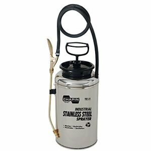 Chapin 1739 2 gallon Industrial Stainless Steel Sprayer For Fertilizer And