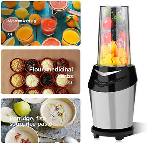 1500w Power Commercial High speed Blender Mixer Juicer Food Smoothies With Hold
