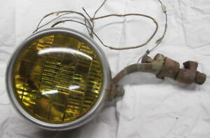 Antique Auto Fog Lamp Ge Automobile With Mounting Hardware